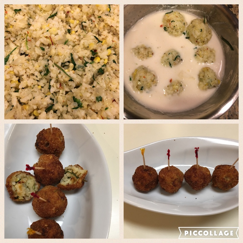 How to make Spinach Arancini