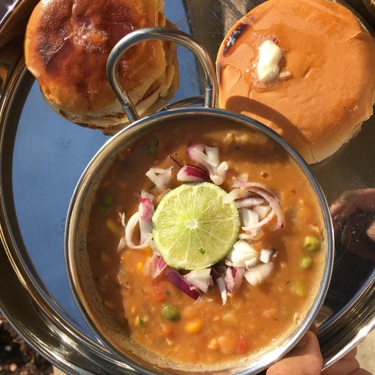 How to make Vatana Pav Bhaji