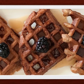 How to make Chocolate Waffles