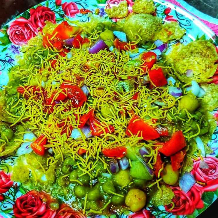 Photo of Green masala poori by Roopasree Rao at BetterButter