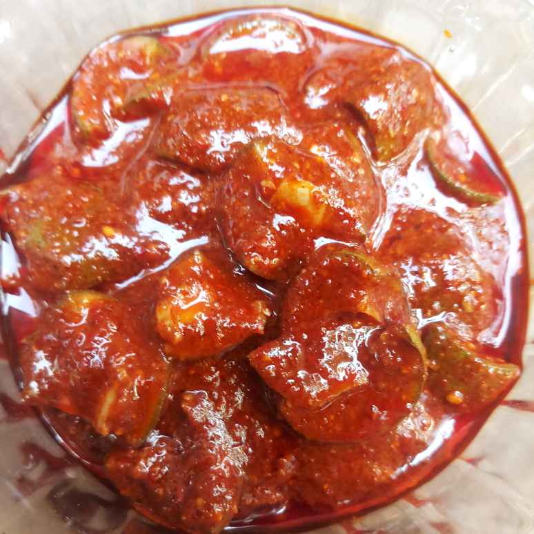 Photo of Udupi special pickle by Roopasree Rao at BetterButter
