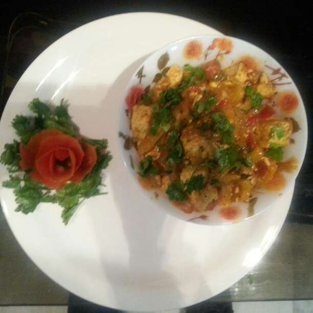 How to make Chilli Paneer in Punjabi Style