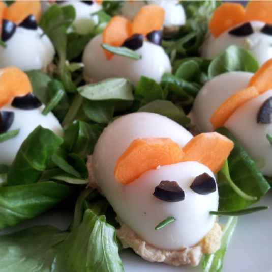 Photo of Egg Mice with Hummus by Rosy Sethi at BetterButter
