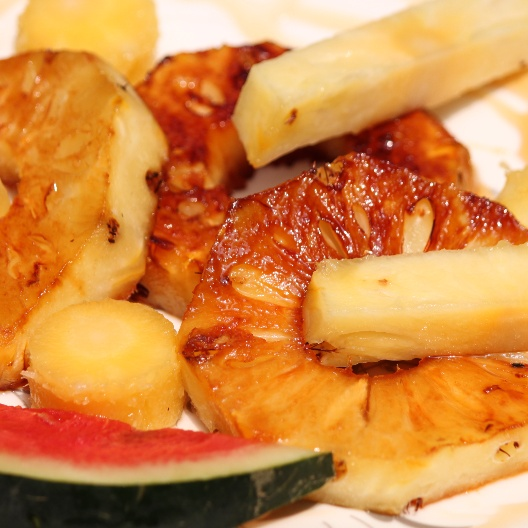 How to make SWEET SUMMER PINEAPPLE GRILL
