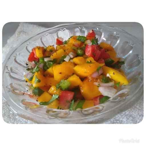 Photo of MANGO salsa by રૂચા દિવ્યેશ રાજા at BetterButter