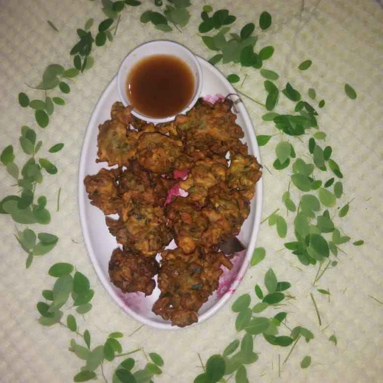 Photo of SARGAVA na pan na bhajiya by રૂચા દિવ્યેશ રાજા at BetterButter