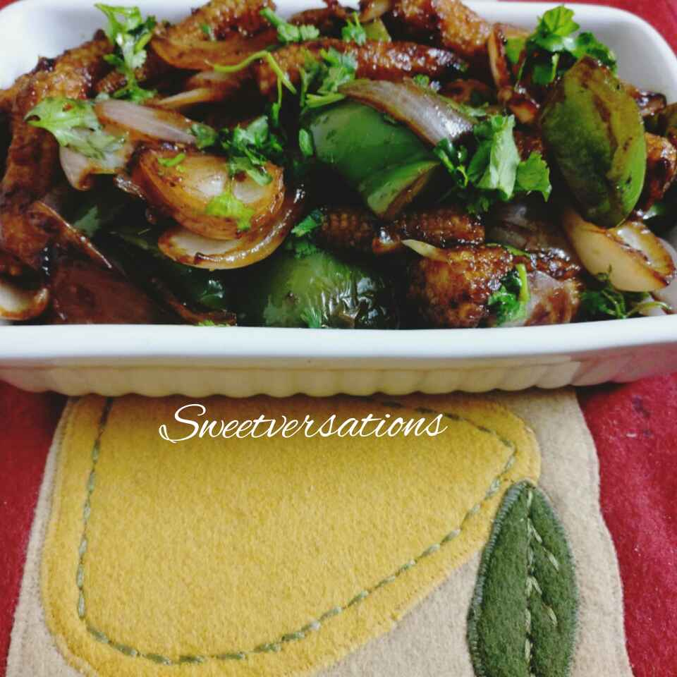 How to make Non fried Baby corn manchurian
