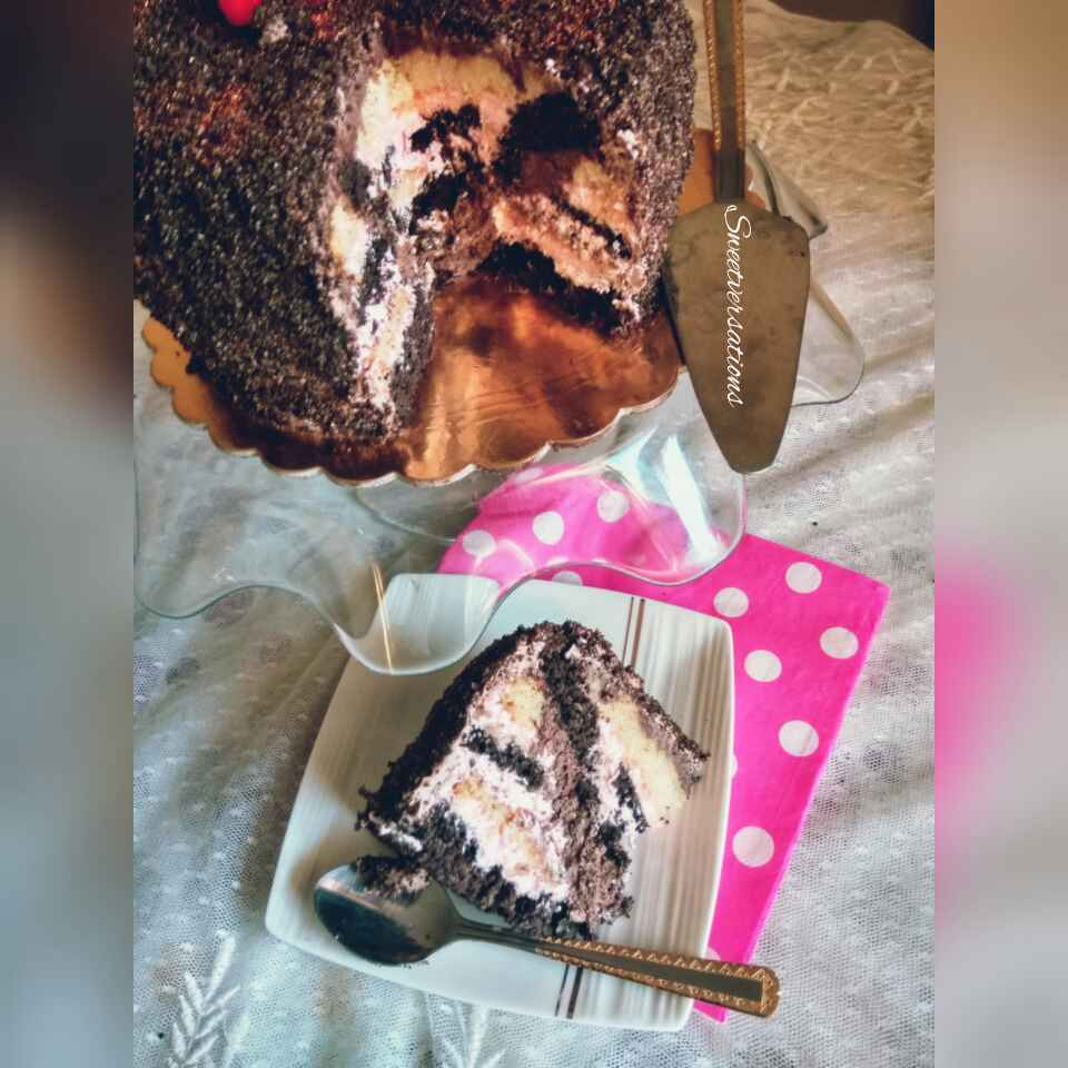 Photo of Chocolate puzzle cake. by Ruchi Bhatia at BetterButter