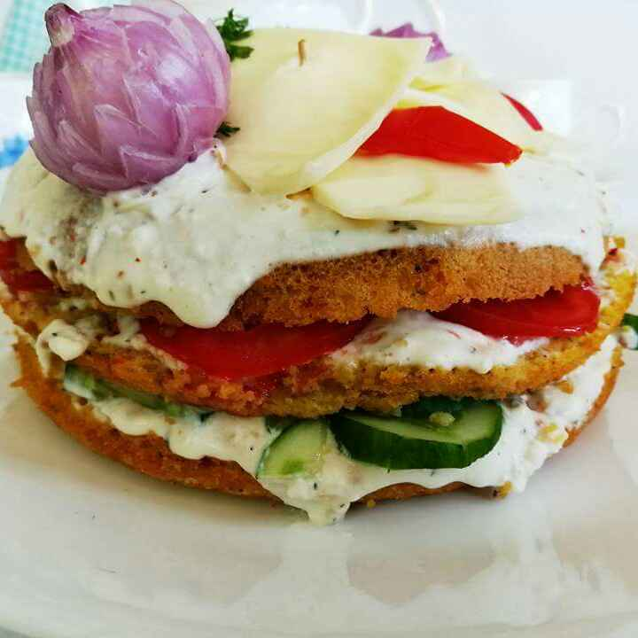 Photo of Savory lentil cake by Ruchi Bhatia at BetterButter