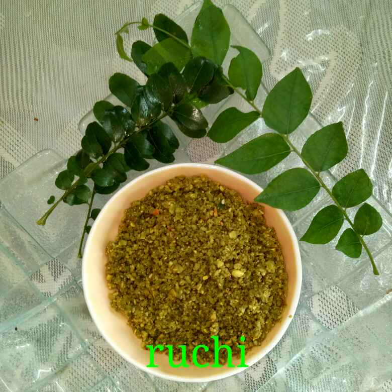 Photo of Curry leaves ki chutney by Ruchi Chopra at BetterButter
