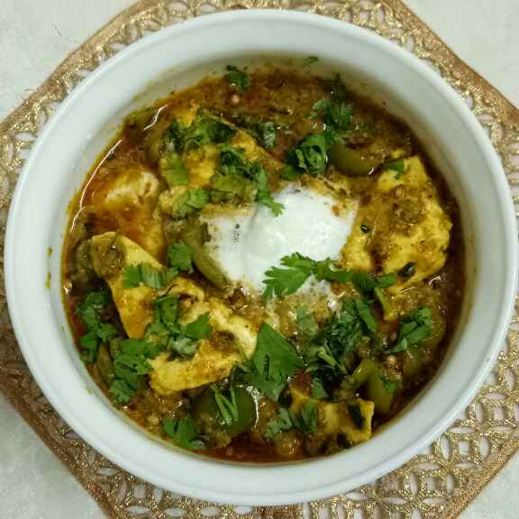 How to make Paneer dahiwala