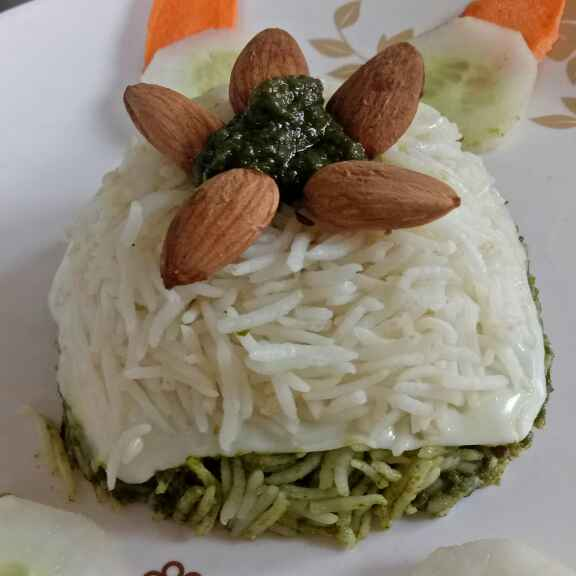 Photo of Spinach cheese rice by Ruchi Chopra at BetterButter