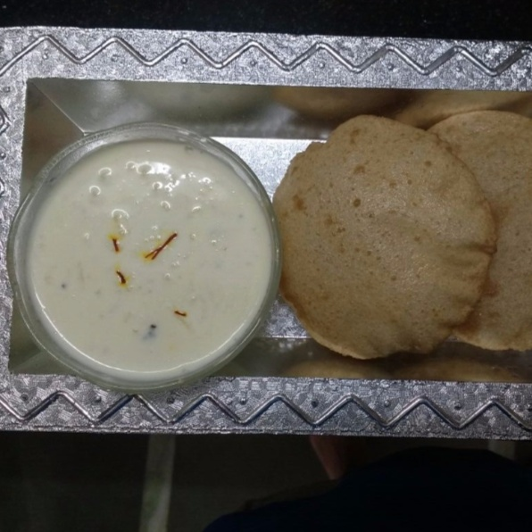 Photo of Kheer and Puri by Ruchi Mathur at BetterButter