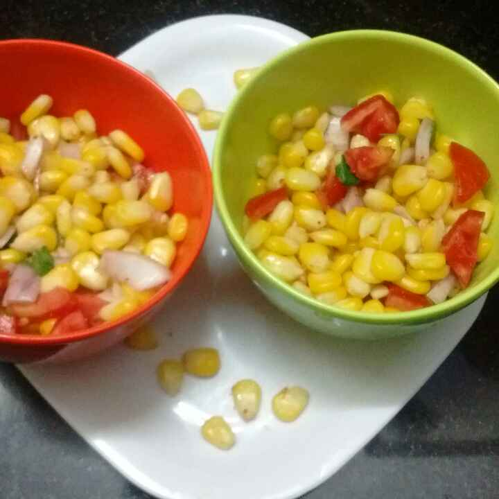 Photo of Sweet corn chaat by Ruchi Mathur at BetterButter