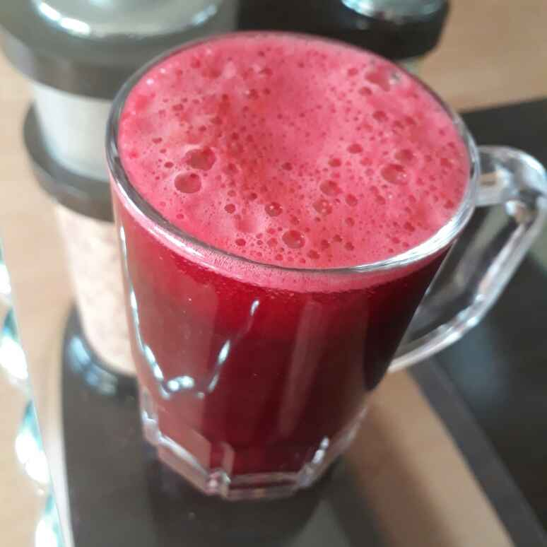 How to make Carrot Beetroot juice