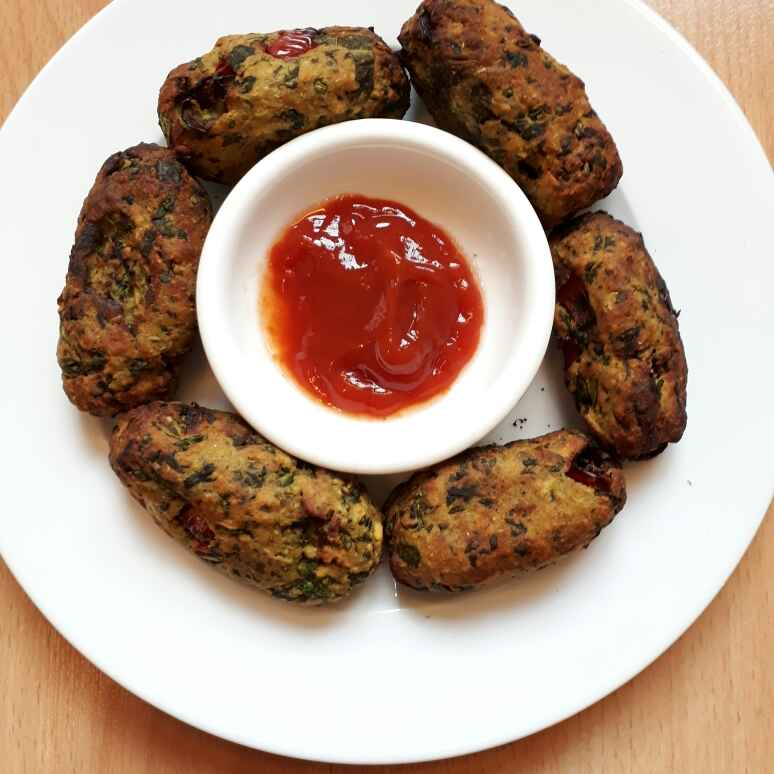 Photo of Sweet potato spinach rolls by Ruchi sharma at BetterButter