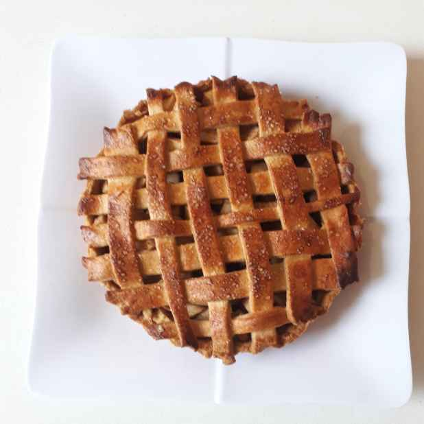 Photo of Apple Pie (whole wheat pie crust) by Ruchi sharma at BetterButter