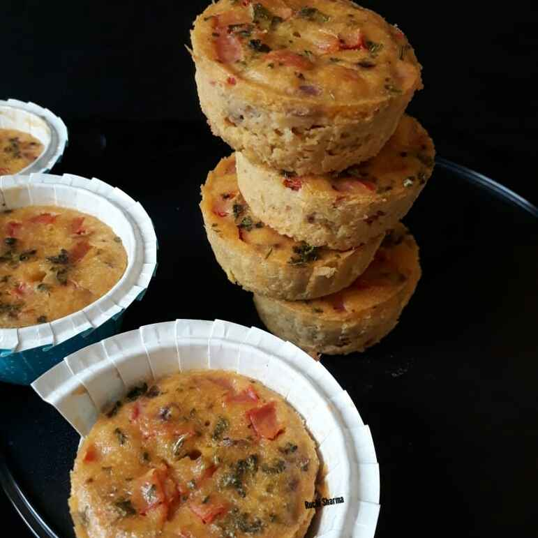 How to make Gram Flour/Besan Muffins