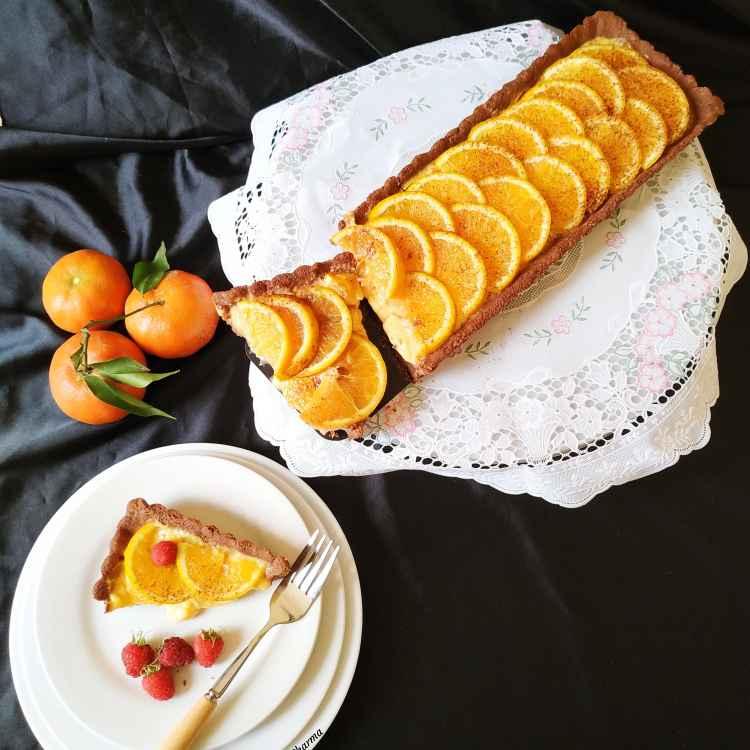 Photo of Chocolate Orange Tart by Ruchi sharma at BetterButter