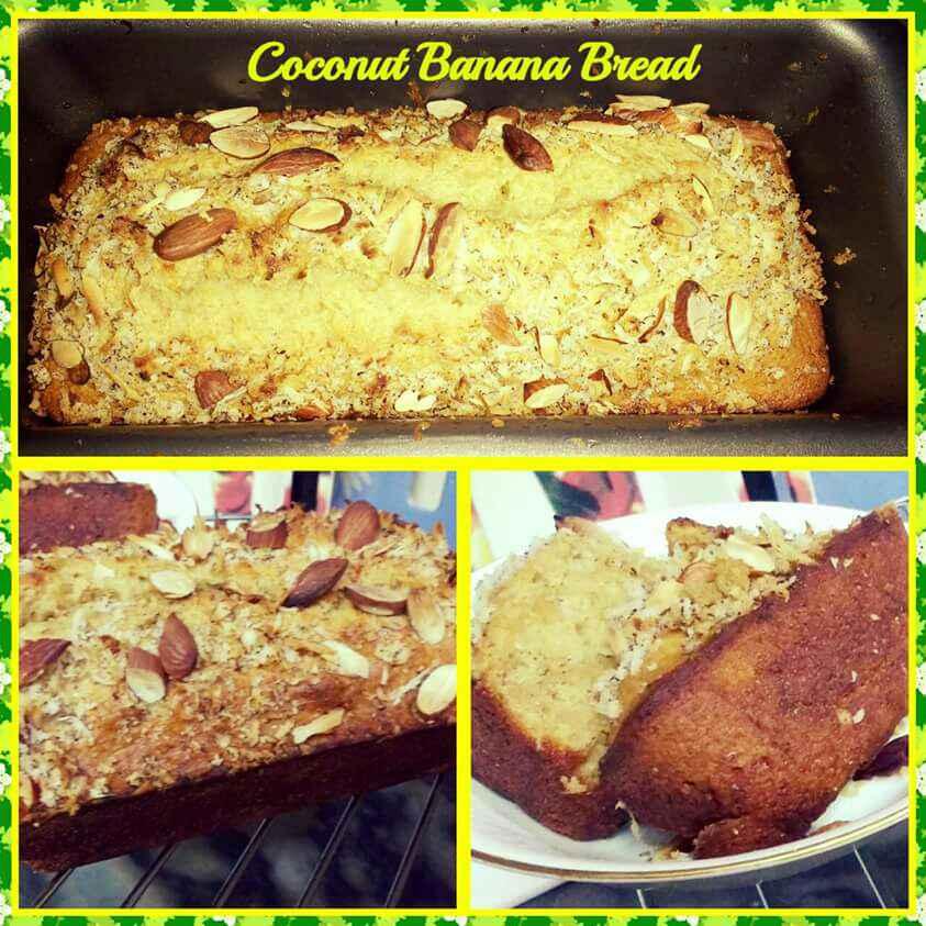 How to make Coconut Banana Bread