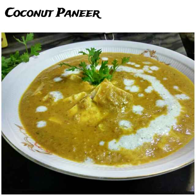 How to make Coconut Paneer