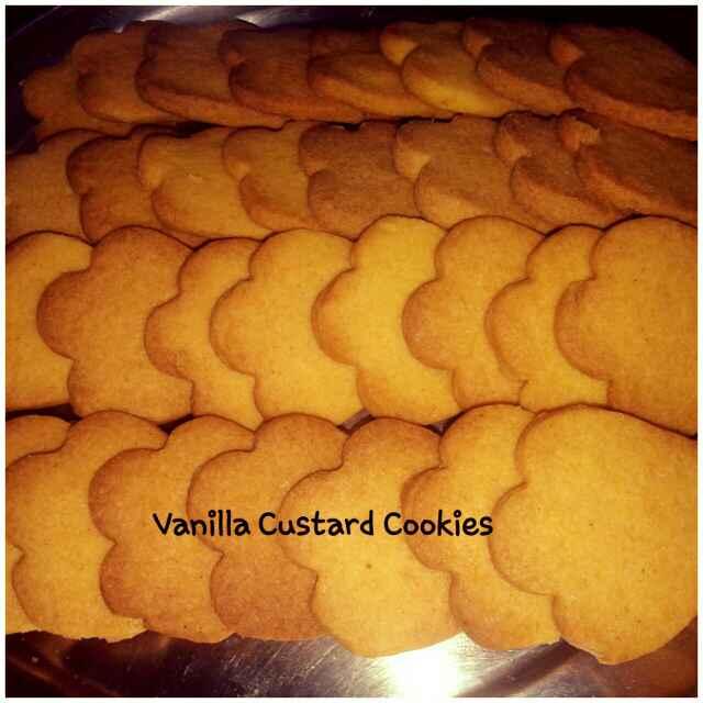 How to make Vanilla custard cookies