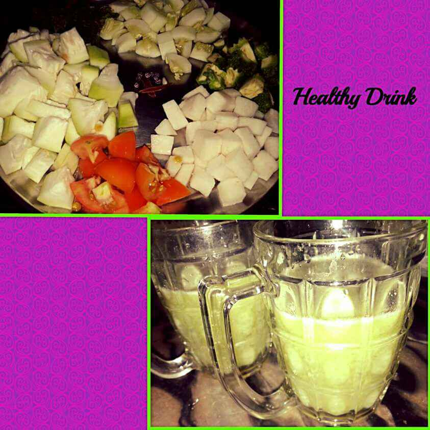 Photo of Vegetable drink by Ruchi Srivastava at BetterButter