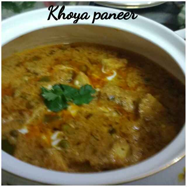 How to make Khoya Paneer