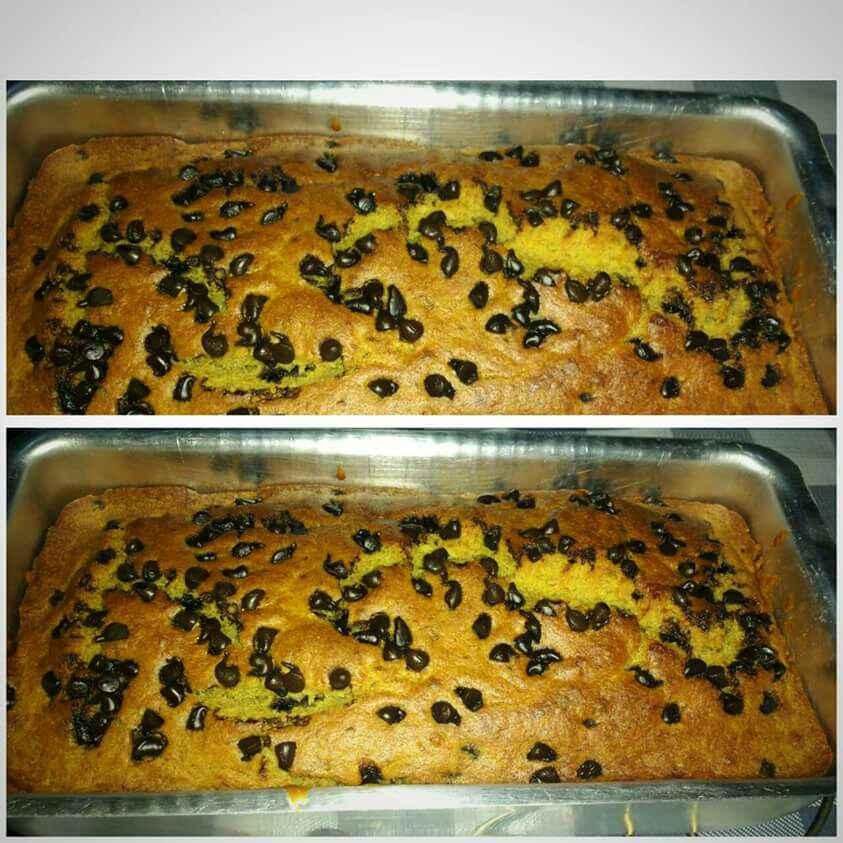 Photo of Cinnamon banana chocolate chips cake by Ruchi Srivastava at BetterButter