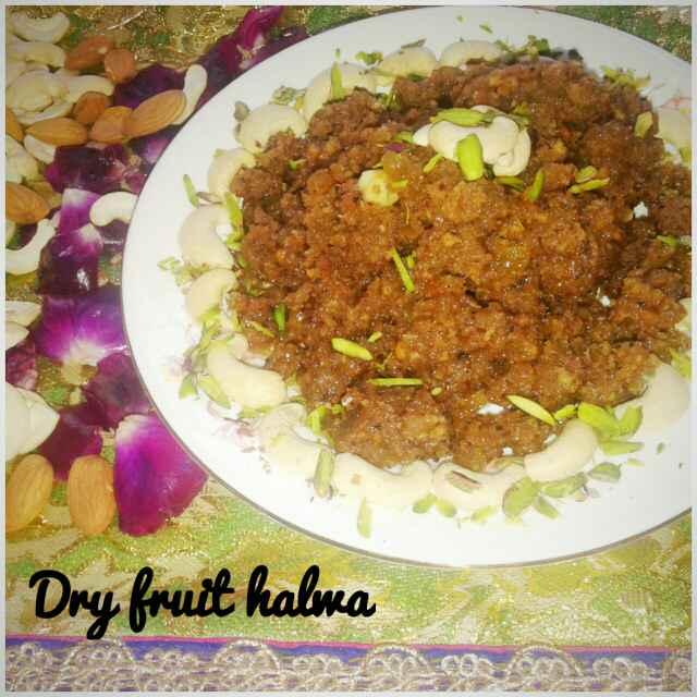 How to make Dry Fruit Halwa