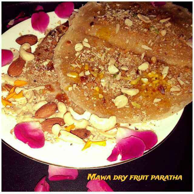 Photo of Mava dry fruit paratha by Ruchi Srivastava at BetterButter