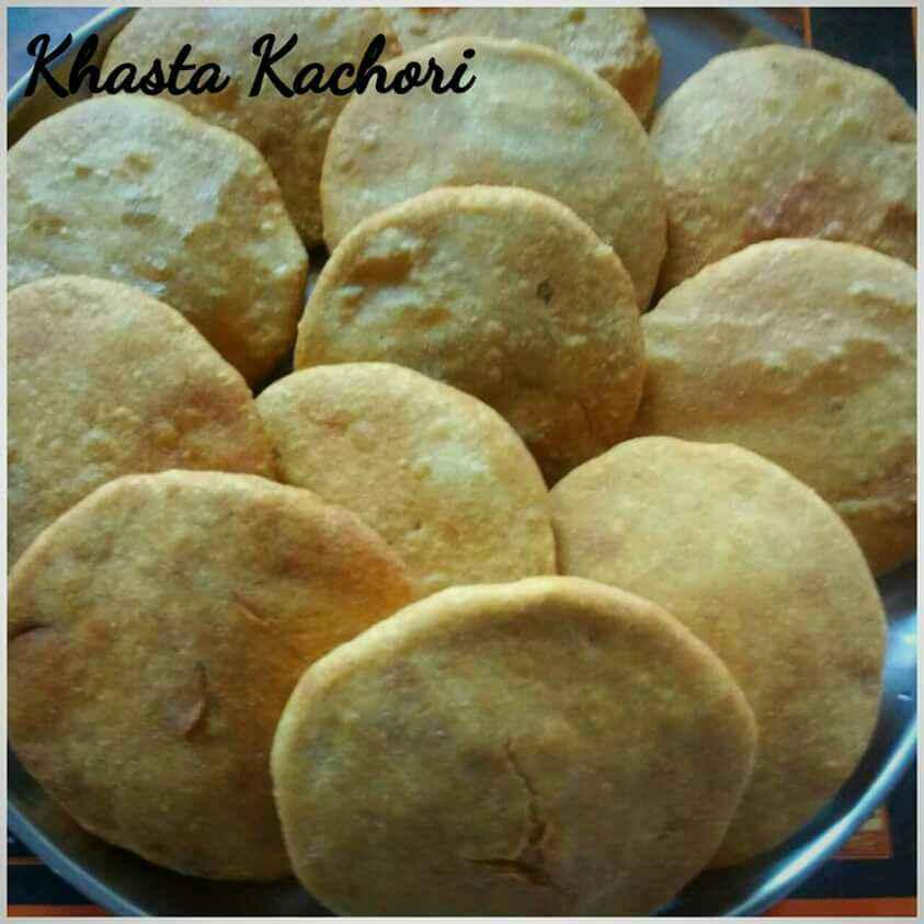 How to make खस्ता कचौरी