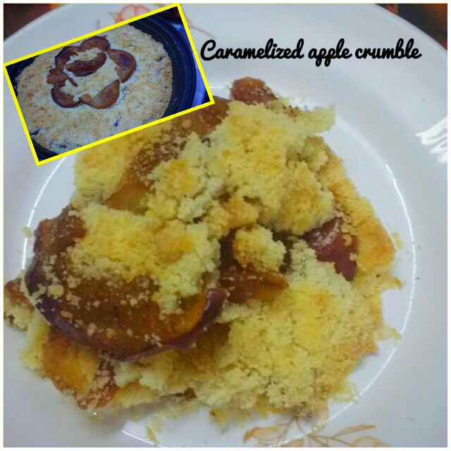 Photo of Caramlised apple crumble by Ruchi Srivastava at BetterButter