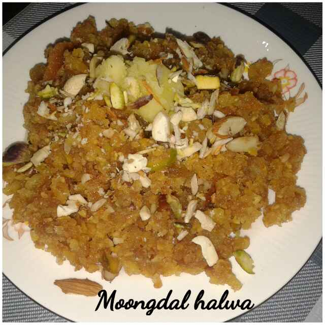 Photo of Moong dal halwa by Ruchi Srivastava at BetterButter