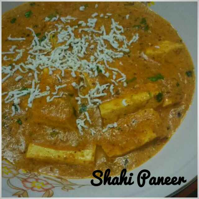Photo of Shahi paneer by Ruchi Srivastava at BetterButter
