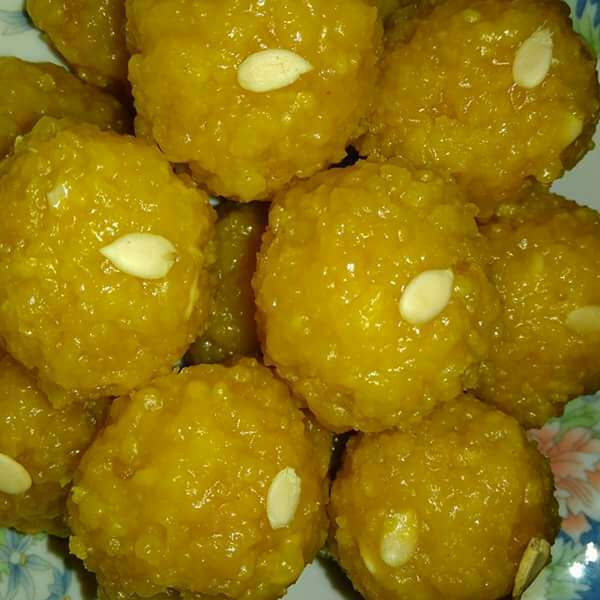 How to make Motichur ladoo