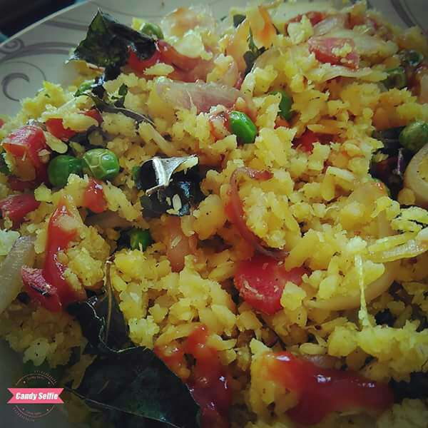 How to make Mix veg poha