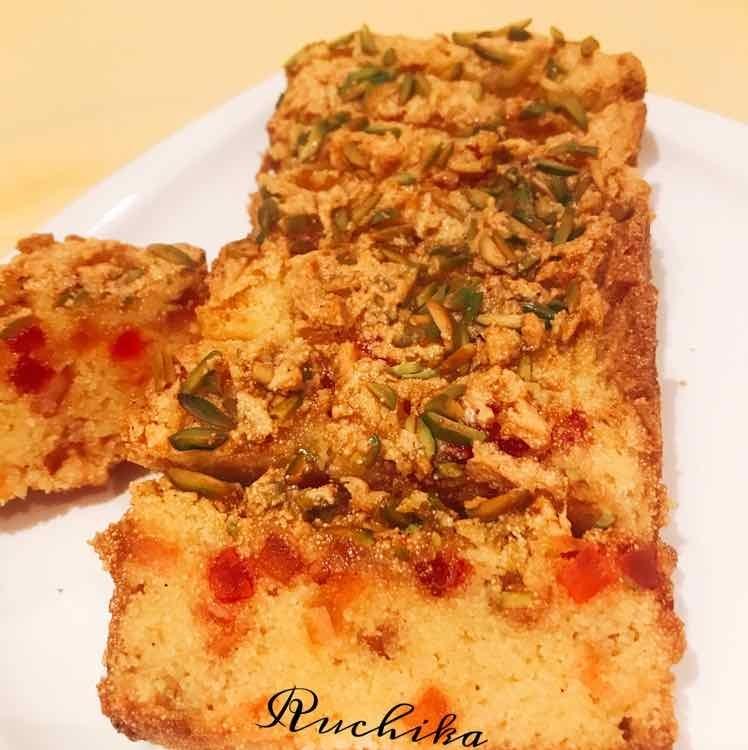 Photo of Mango semolina cake by Ruchika Anand at BetterButter