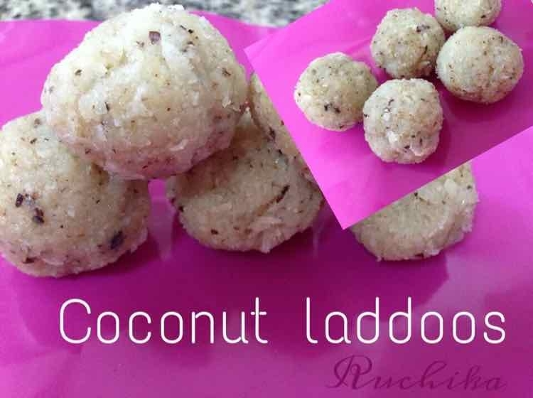 How to make coconut laddoos