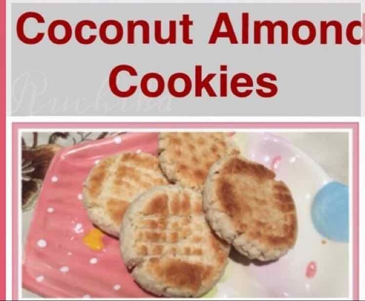 How to make coconut Almond cookies