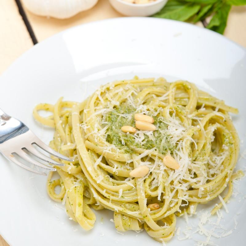 How to make Basil Pesto Pasta