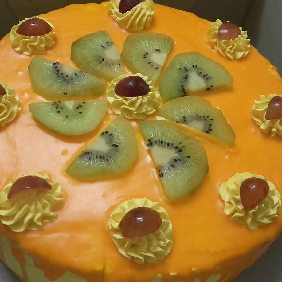 How to make Mango fresh cream cake