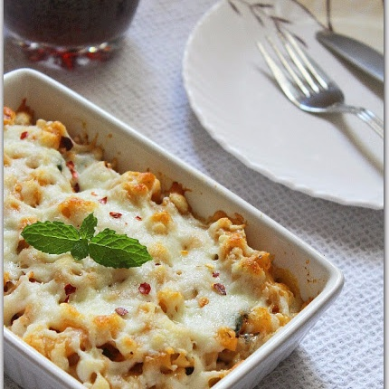 How to make Baked Pasta With Herbs And Cheese