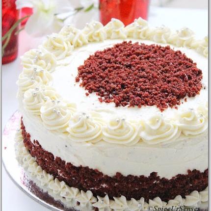 How to make Eggless Red Velvet Cake
