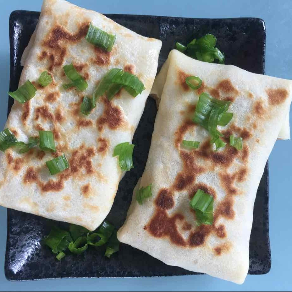 How to make Peri Peri chicken crepes
