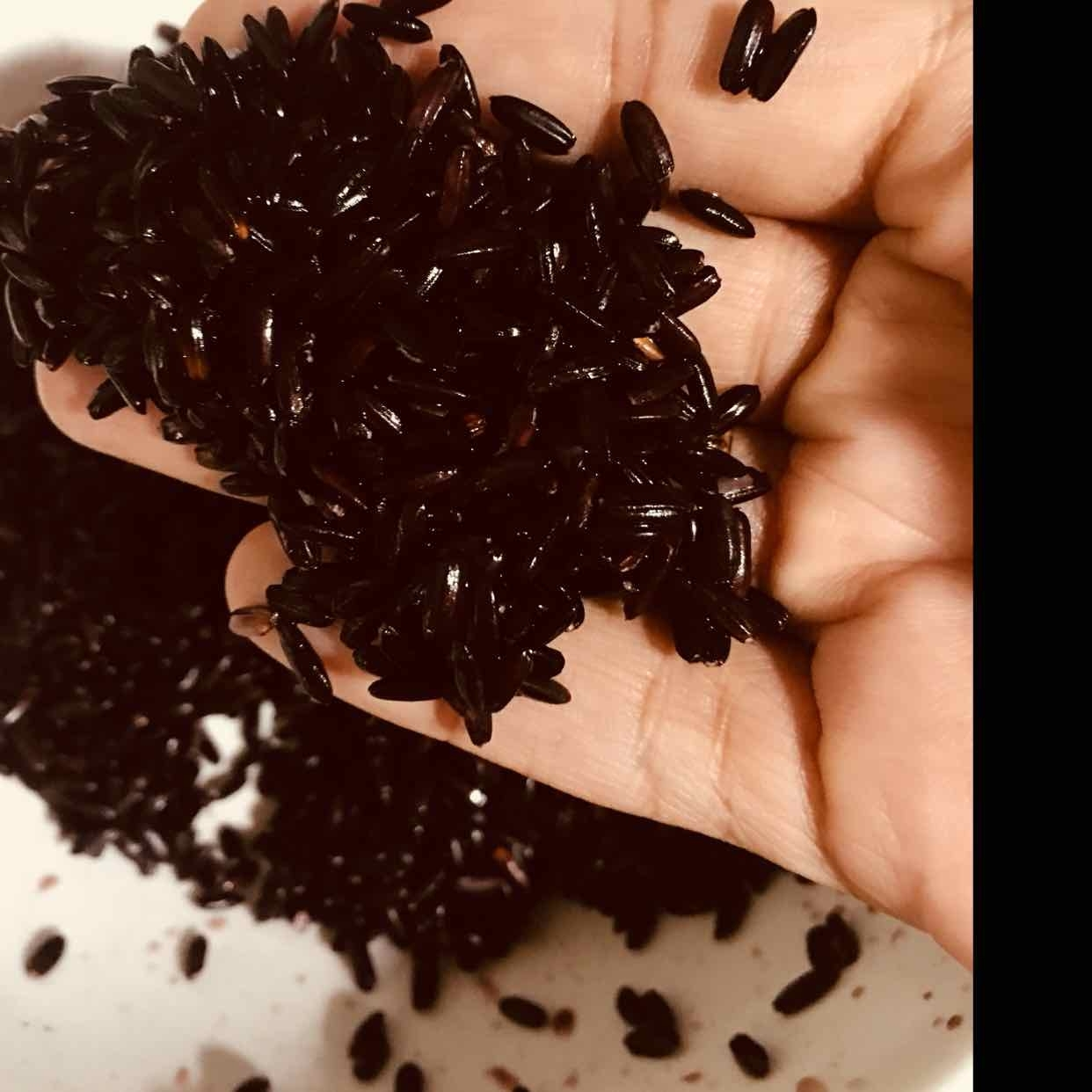 Photo of Black Rice pudding ( for elders, pregnant women) by Runa Ganguly at BetterButter