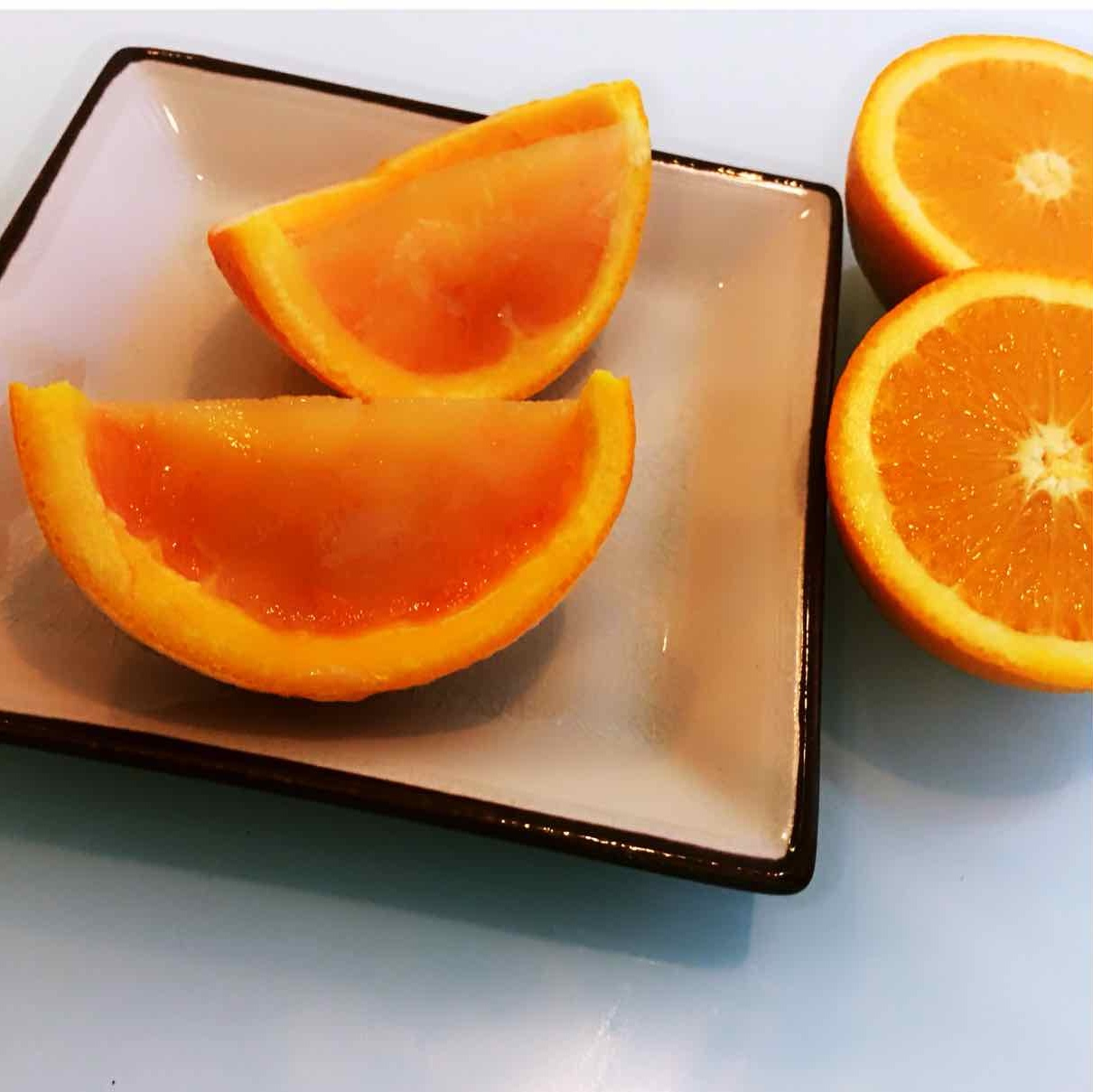 How to make orange Jelly