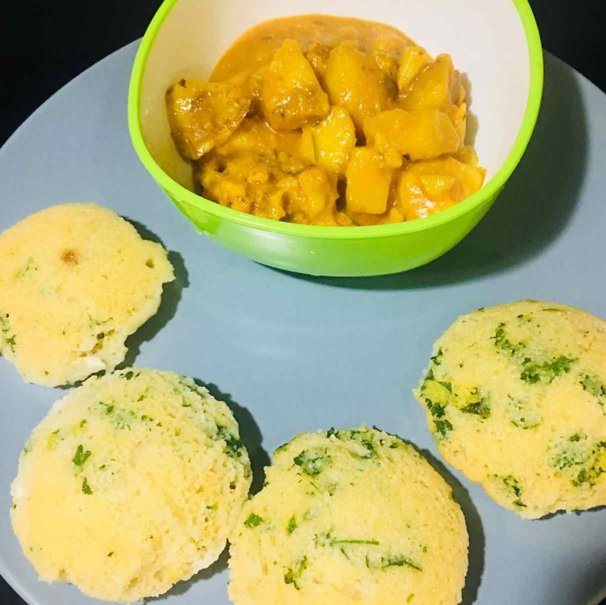 Photo of rava oats idli by Runa Ganguly at BetterButter