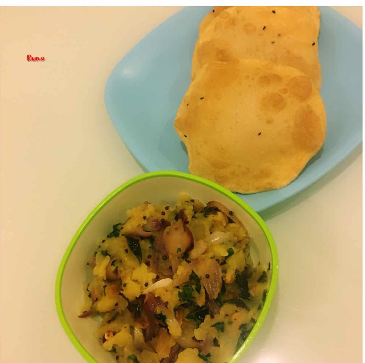 Photo of Authentic Alugadde Palya by Runa Ganguly at BetterButter