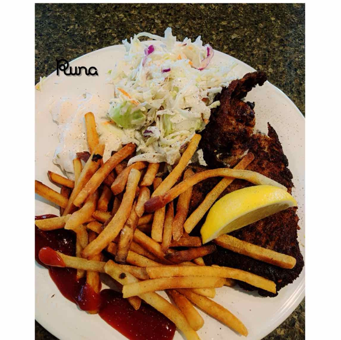 Photo of Fish and Chips with Coleslaw by Runa Ganguly at BetterButter
